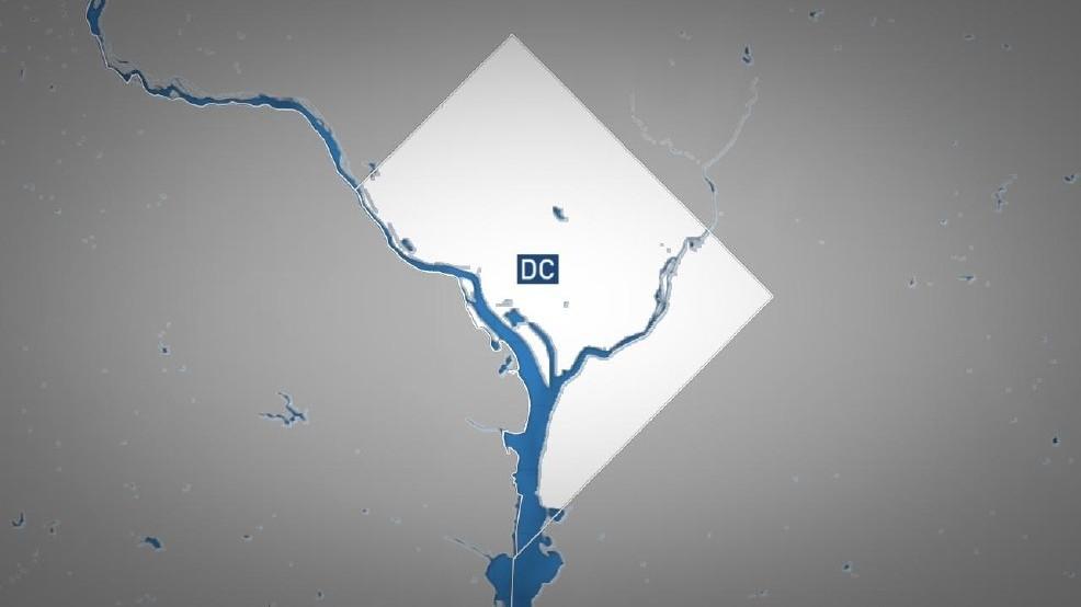 Washington DC map graphic ABC7 file photo
