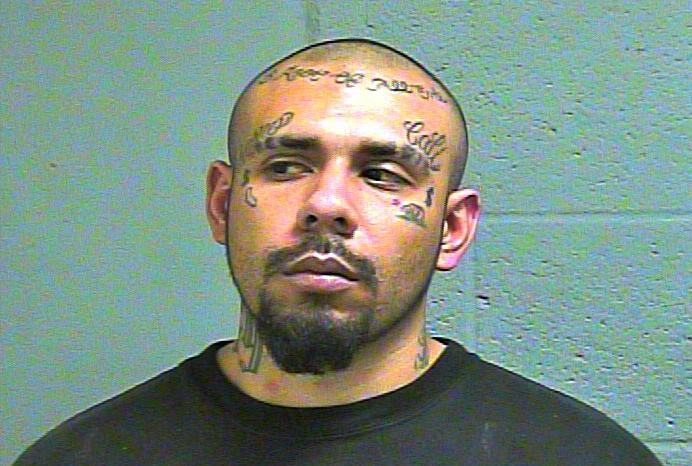 Eladio Vargas Jr was arrested Feb.16 in Oklahoma City in connection to a DEA investigation. (Oklahoma County Jail)