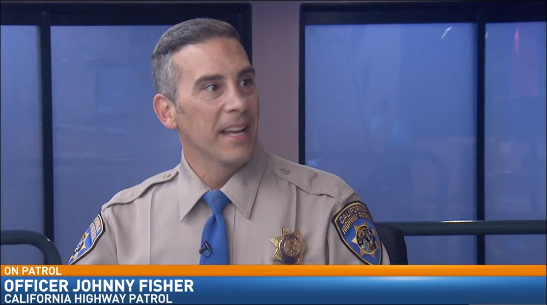 CHP Officer Johnny Fisher visited Great Day to talk about back to school safety.