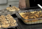 The perfect make-ahead breakfast casserole for your summer getaway from Dean's Sausage